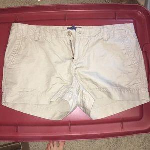 North Face khaki shorts